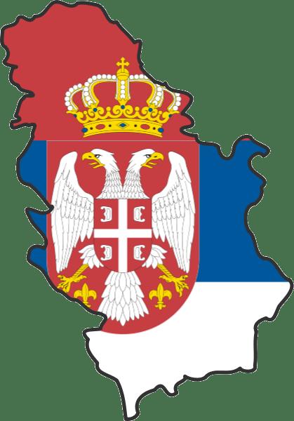 serbia_flag_map