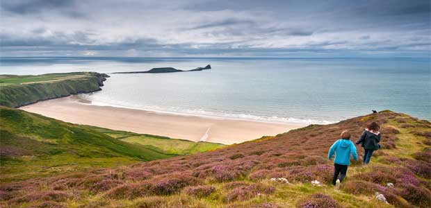 Pitton-Cross-Campsite-Review-Rhossili-Beach-Gower-Wales
