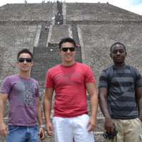 WILD ARROW IN THE PYRAMIDS OF TEOTIHUACAN