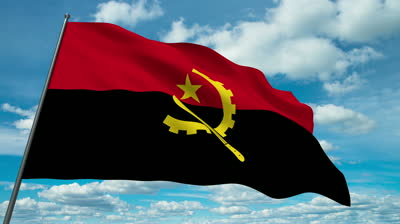stock-footage-angola-flag-waving-against-time-lapse-clouds-background