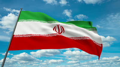 stock-footage-iran-flag-waving-against-time-lapse-clouds-background