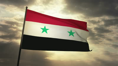 stock-footage-syrian-flag-loop-waving-in-cloudscape-sunset-s