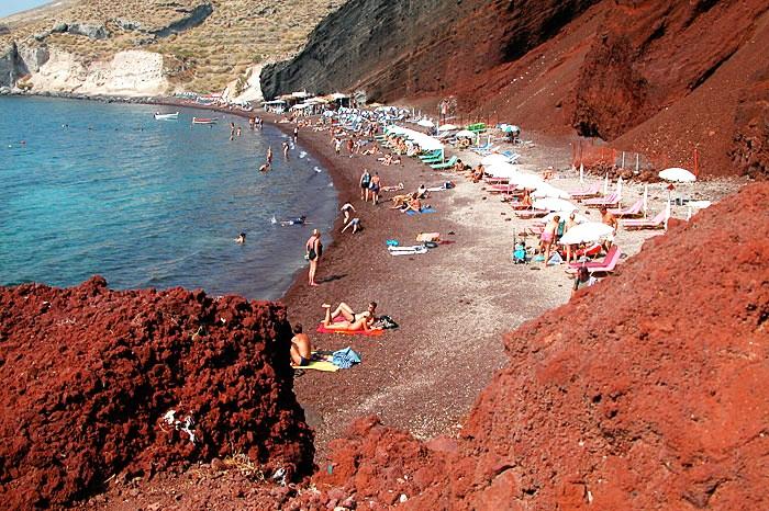 red beach_santorini