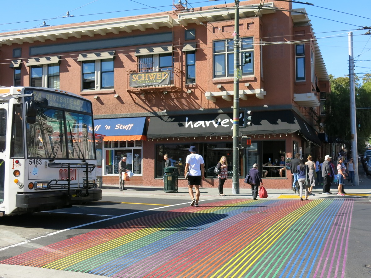Castro_Street_Pedcrossing_with_Rainbow_Flag_Colour