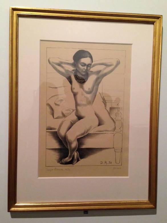 Frida Kahlo desnuda, por Diego Rivera