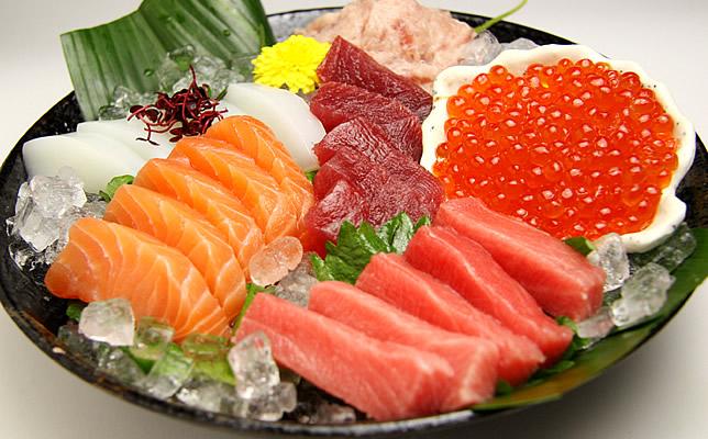 Bandeja de Sashimi